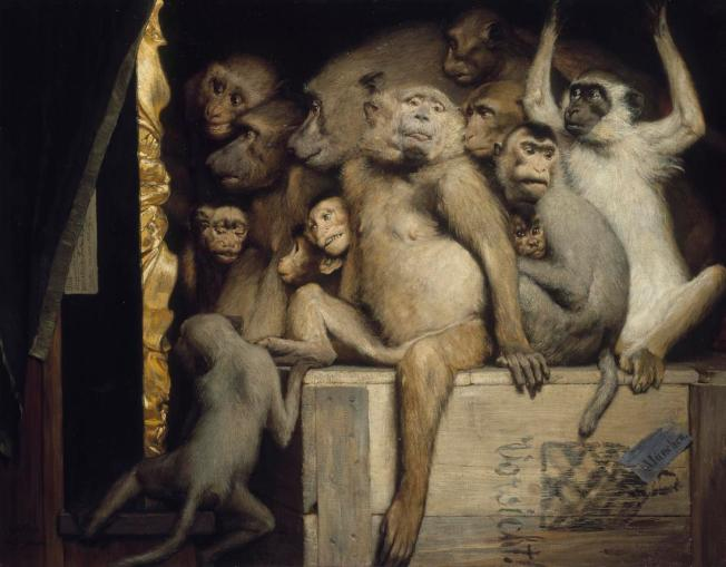 gabriel-cornelius-von-max-monkeys-as-judges-of-art-1889