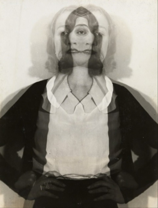 Erwin Blumenfeld - Double Exposure, Amsterdam, ca. 1932.jpg