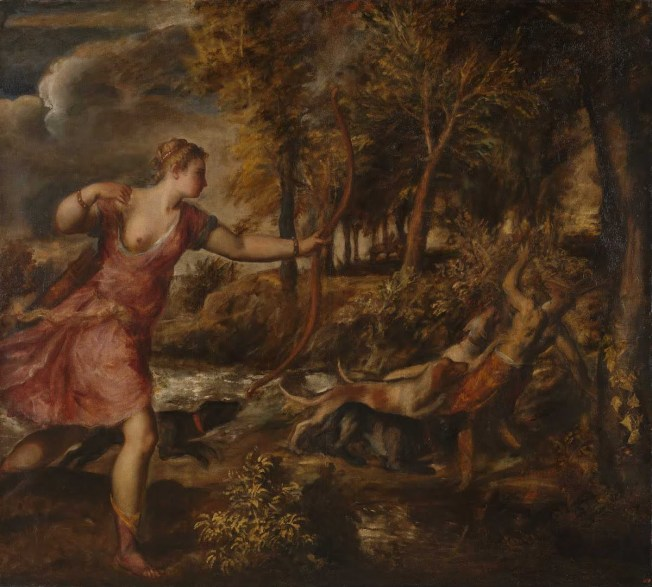 Tiziano - The Death of Actaeon (1559–1575)