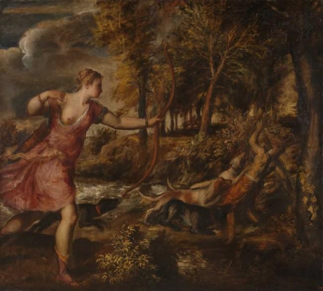 Tiziano - The Death of Actaeon (1559–1575)