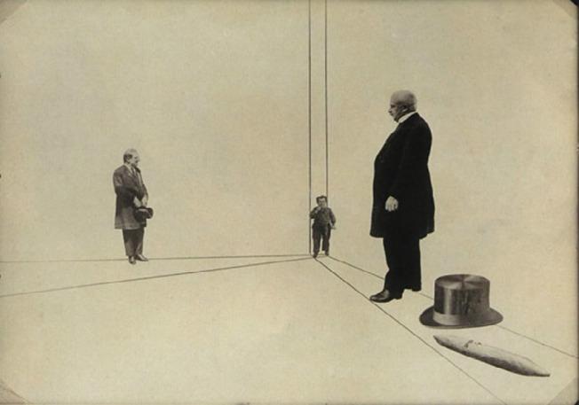 Laszlo Moholy-Nagy - Unsere Grossen (1927)