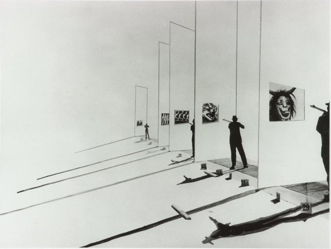 László Moholy-Nagy, The Shooting Gallery (1925-1927)