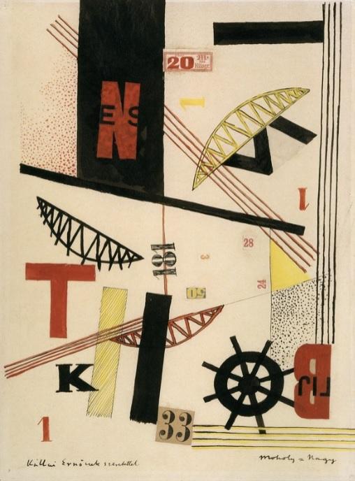 László Moholy-Nagy - Bridges 1 K 33, 1920