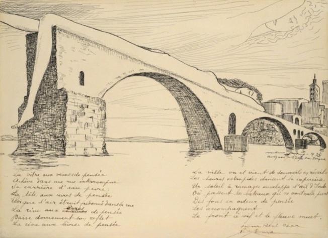 Man Ray - Le pont brisé, 1936